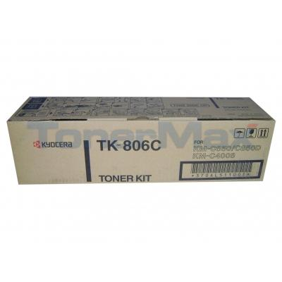 KYOCERA MITA KM-C850 TONER CYAN